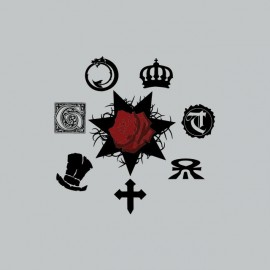 Tee shirt Vampire the Masquerade symboles gris