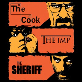 The Cook, The Imp, The Sheriff - Black