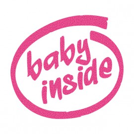 Tee Shirt Baby inside White