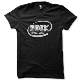Tee Shirt Geek inside Black