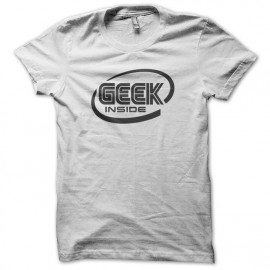 Tee Shirt Geek inside White