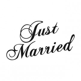 Tee Shirt Just Married White