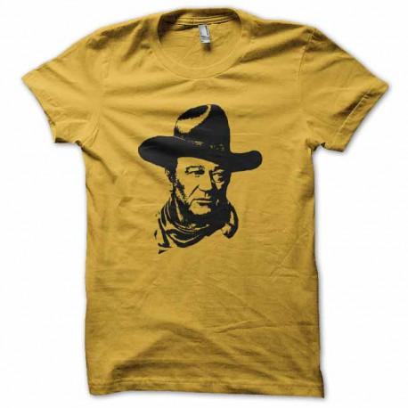 tee shirt John Wayne jaune