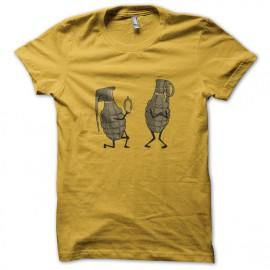 tee shirt boom jaune