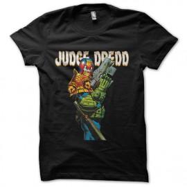 tee shirt judge dredd noir
