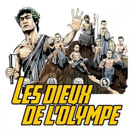 tee shirt Les dieux de l'olympe blanc