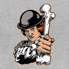tee shirt Clockwork Orange grey