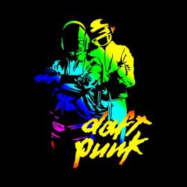 tee shirt daft punk noir