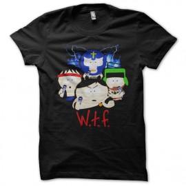 tee shirt South Park noir