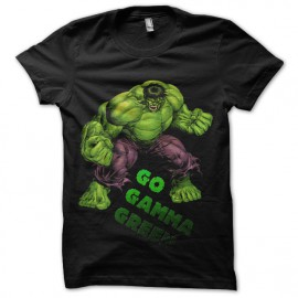 tee shrt Hulk Gamma vert mixtes tous ages