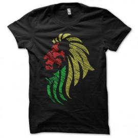 tee shirt lion ragge noir