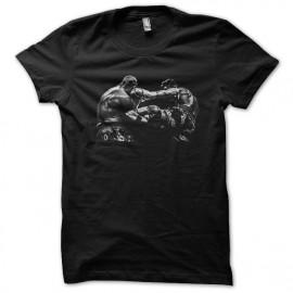 tee shirt Muay Thai noir