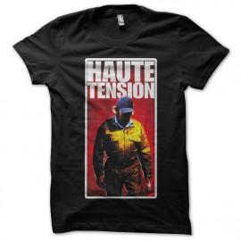 tee shirt Haute Tension noir mixtes tous ages
