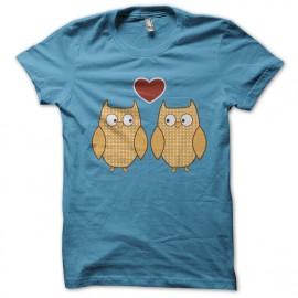 tee shirt olw birdheart bluesky
