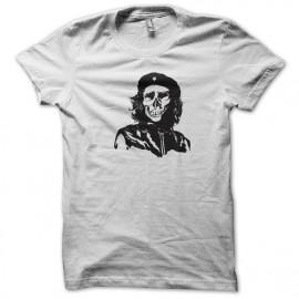 tee shirt skate skull white