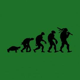 tee shirt evolution ninja turles vert