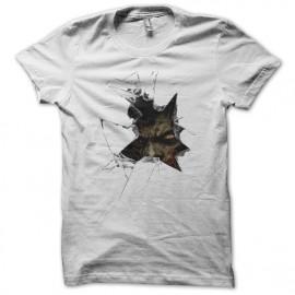 tee shirt Zombie white