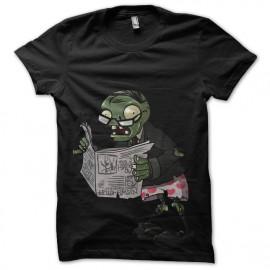 tee shirt Newspaper Zombie black