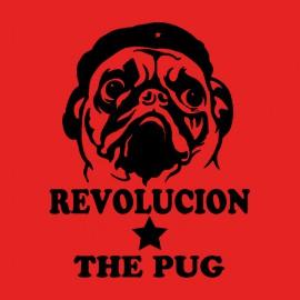 tee shirt pug guevara red