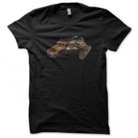 tee shirt XS stock light freighter noir