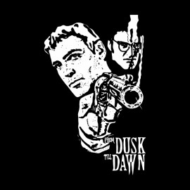 tee shirt from dusk till dawn noir
