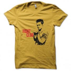 tee shirt Fight Club Poster jaune