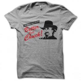 tee shirt better call chuck parodie better call saul gris