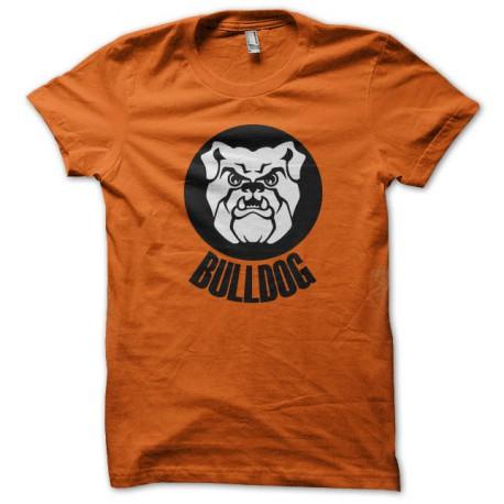 tee shirt Bulldogs orange