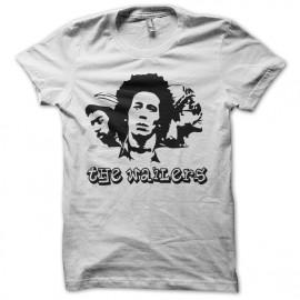 tee shirt the wailers blanc
