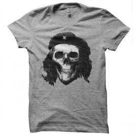 tee shirt che guevara skull gris