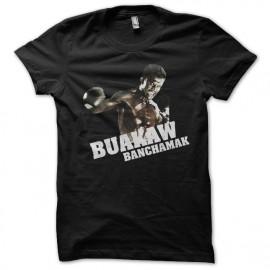 tee shirt Buakaw banchamak black