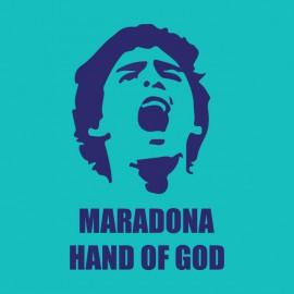 tee shirt maradona hand of god bluesky