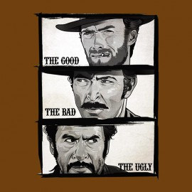 tee shirt The good the bad and the ugly