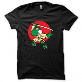 tee shirt yoshi en ninja noir