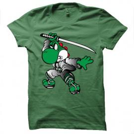 tee shirt yoshimitsu vert