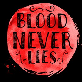 Tee Shirt Dexter - Blood Never lies - NOIR
