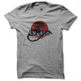 tee shirt lv-426 alien gris