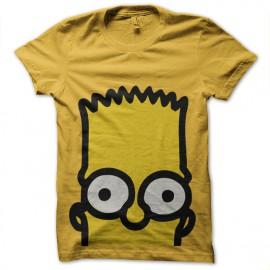 tee shirt Bart Simpson yellow