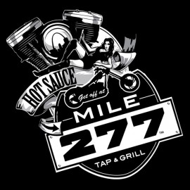 tee shirt mile 277 black