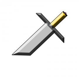 T-shirt épée brisée