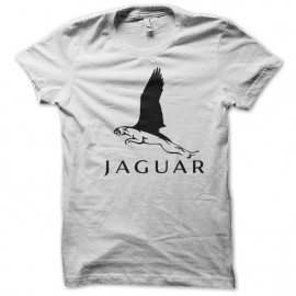 tee shirt Jaguar white