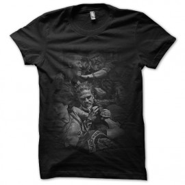tee shirt Sons Of Anarchy black
