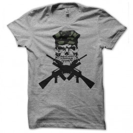 tee shirt m16 cross grey