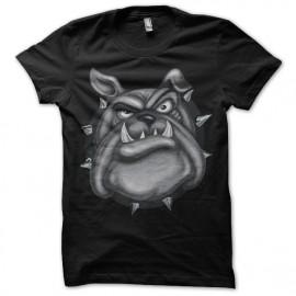 tee shirt bulldog noir