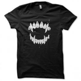 tee shirt crocs de vampire noir