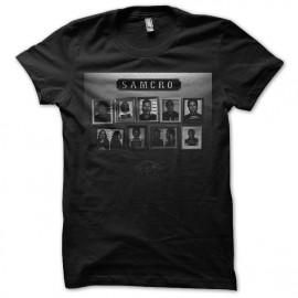 tee shirt samcro noir