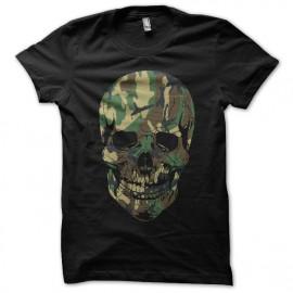 tee shirt army skull noir
