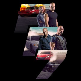 tee shirt fast and furious 7 noir