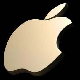 tee shirt apples 3D noir