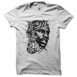 tee shirt Floyd Mayweather blanc